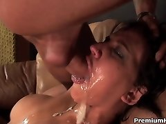 Ferocious mouth fucked Sasha Grey