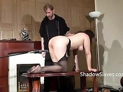 Amateur slave Jannas kinky fetish and bizarre machine romping and poon