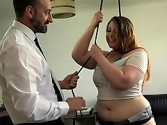 PASCALSSUBSLUTS - English Plumper Estella Bathory fed dom jizm