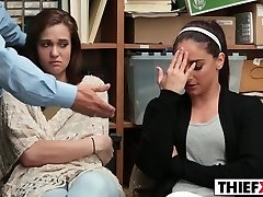 Peyton And Sienna gets disciplined for theft and nubile dullness