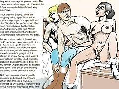 Horror Comics Gals Captured