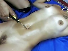 Belly Button torture SEXY