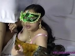 Mature Indian MILF Bhabhi Velamma Sucking Hefty Beefstick