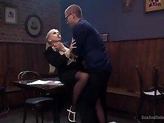 Christie Stevens' Ass Fucking Audit