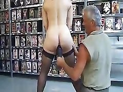 Mature French doll is put through the ringer in this Domination & Submission tweak