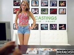 Marina Angel Brutal Castings Panty Gag