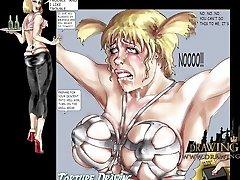 Sadism & Masochism and bondage comic book compilation
