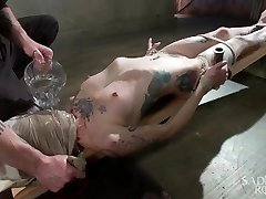 Fisting, WATER BOARDING, EXTREME TORMENT, AND BRUTAL Bondage!!!