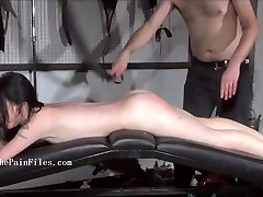 Brutal sub blowjobs and rough slave sex of play piercing