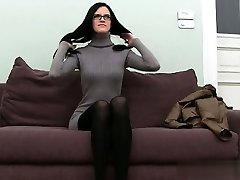 Busty student brutal assfuck orgasm