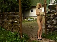 A girl becomes free-for-all willing slave for her tormentor.