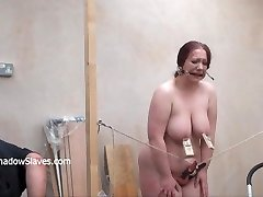 Brutal bbw domination & submission and tool torments of fat slaveslut disciplined to tears