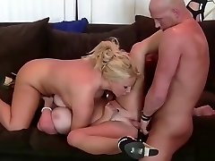 Horny guy penetrates two kinky babes