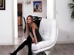Coddled nubile Jillian Janson is taught some discipline