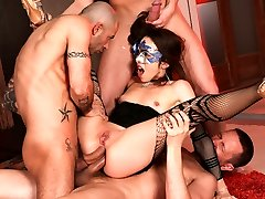 Norma Jane, Mike Angelo, Markus Dupree, Yanick Manmeat in Rocco's Flawless Slaves #08, Episode #01