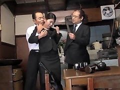 Kinky housewife, Aoi Wajo is frolicking tough sex games