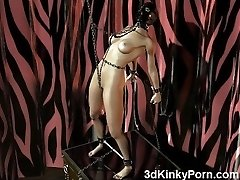 3D Dominated Slaves Roughly Punished!