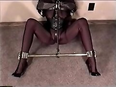 Dp 164 - Molly Fetish and Leather Restrain Bondage