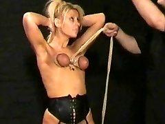 blond painslut tortured