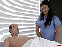 Horny Folks Cock Becomes Hard & Thick During Massage