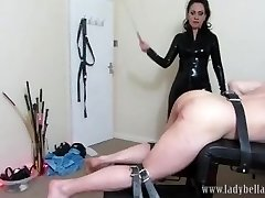 The Sixty Stoke Countdown - Lady Bellatrix in extreme caning