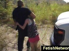 HelplessTeens Piper Perri outdoor bondage & discipline