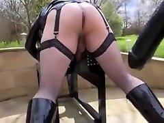Slutty dykes in hot woman domination porn action