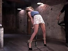 Bondage bad ass suffers in tedious bondage and cruel torment from The Pop