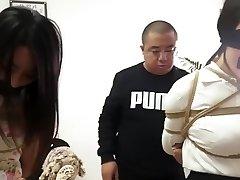 中国女孩的束缚