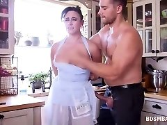 Submissive Mommy and Teen Get Dominated
