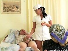 Nubile Nurse Gets a Demonstrate