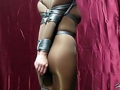 Chrissy Marie Nylon Restrain Bondage