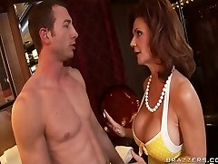 Ginormous Titted punishes her naughty and then disciplines her disobedient Boyfriend