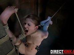 Awesome Female Wire Bondage