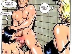 Huge Breast Big Round Arse Comic