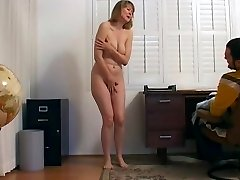 CMNF - Getting fired and obliged to undress
