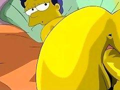 Simpsons Pornography - Homer fucks Marge