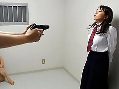 Yui Saejima in Nude honies are playing rough games in the prison - AviDolz