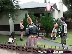 XXXSuicide Emo and Punk Rock babes taking cock in all slots