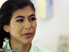 Trans Latina Jessy Dubai Punished her Female Assistant