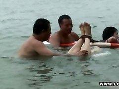 bondage swim funny