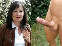 Mom fucked rough in the ass by boy lover