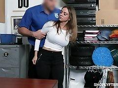 Stunning milf Havana Bleu gets penalized for shoplifting