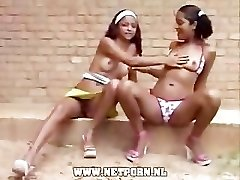 arousing brazil teen and shoes