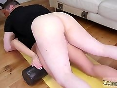 Ultimate surrender violent first time Ass-Slave Yoga