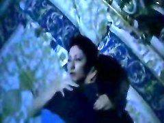 Dark-haired Latina hottie nailed at night