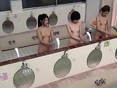 Weird asian pees public