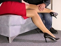 Nymph and Foot Slave