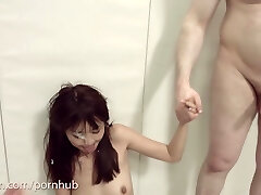 Asian Marica Haze gets harsh anal and extreme Bondage & Discipline at the Booty Cafe