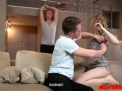 Mind-blowing wife rough doggystyle
